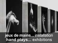 Jeux de mains... (photo d'expo)